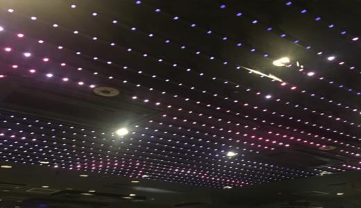 東京 渋谷 「ATOM」 の天井は resolumeで制御